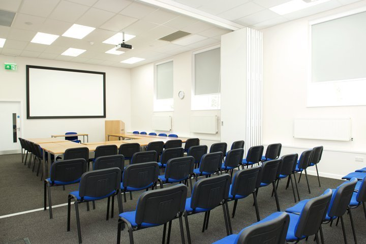 CHSG John Ryder Training Centre Lecture room set up