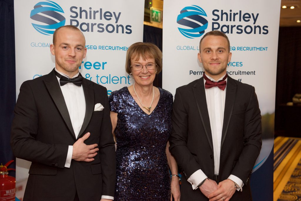 Shirley Parsons Team at CHSG Awards Dinner