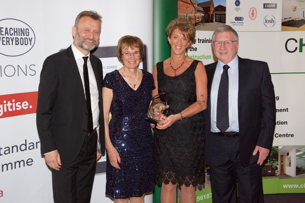 CHSG Training Awards Housebuilder Winner