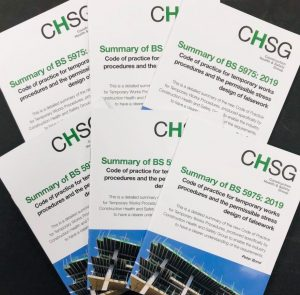 BS 5975: 2019 CHSG Booklet