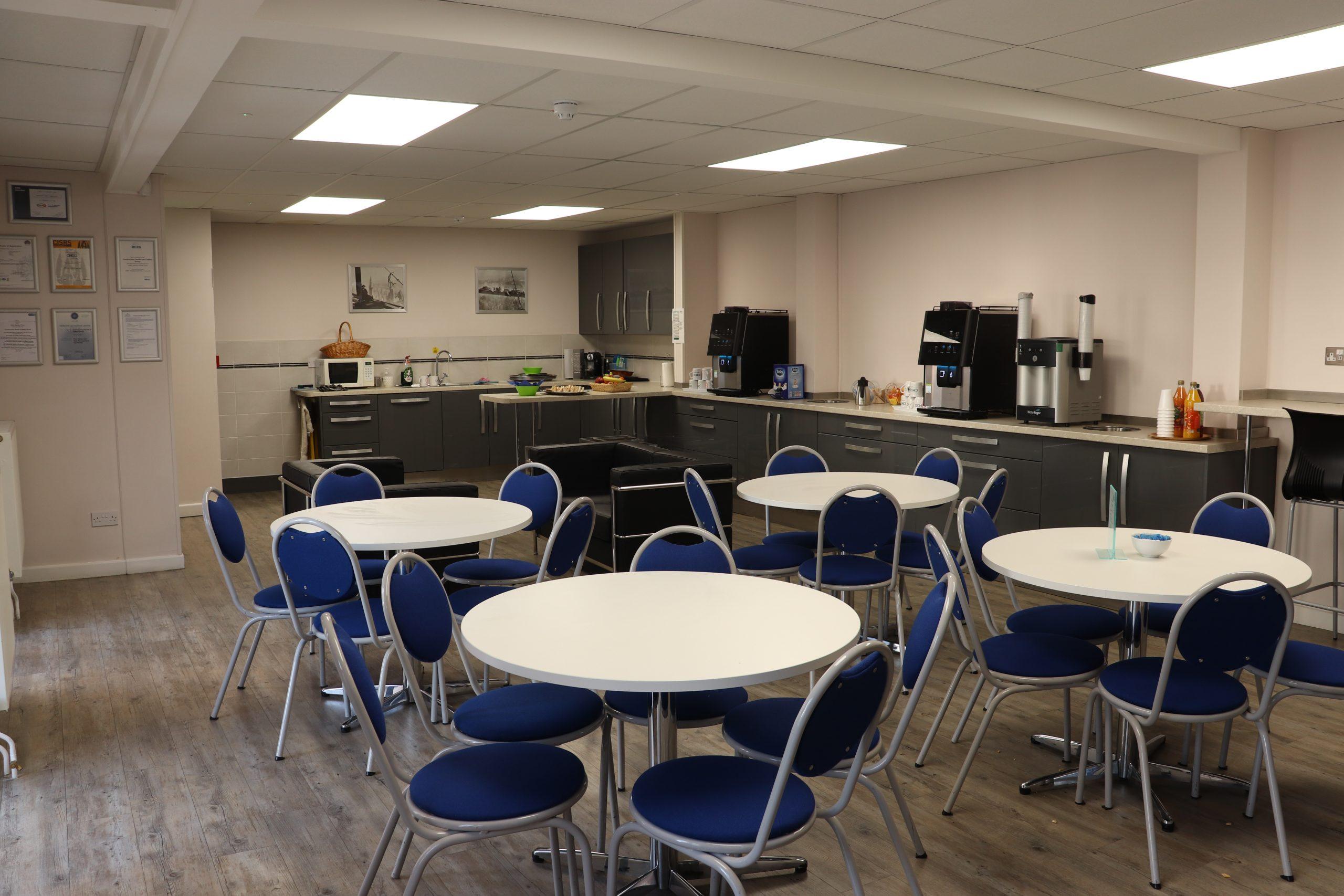 CHSG John Ryder Training Centre Kitchen