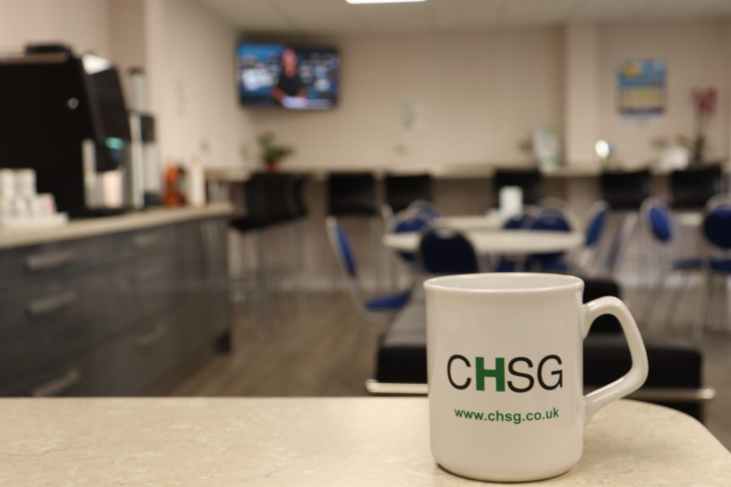 CHSG John Ryder Training Centre Mug