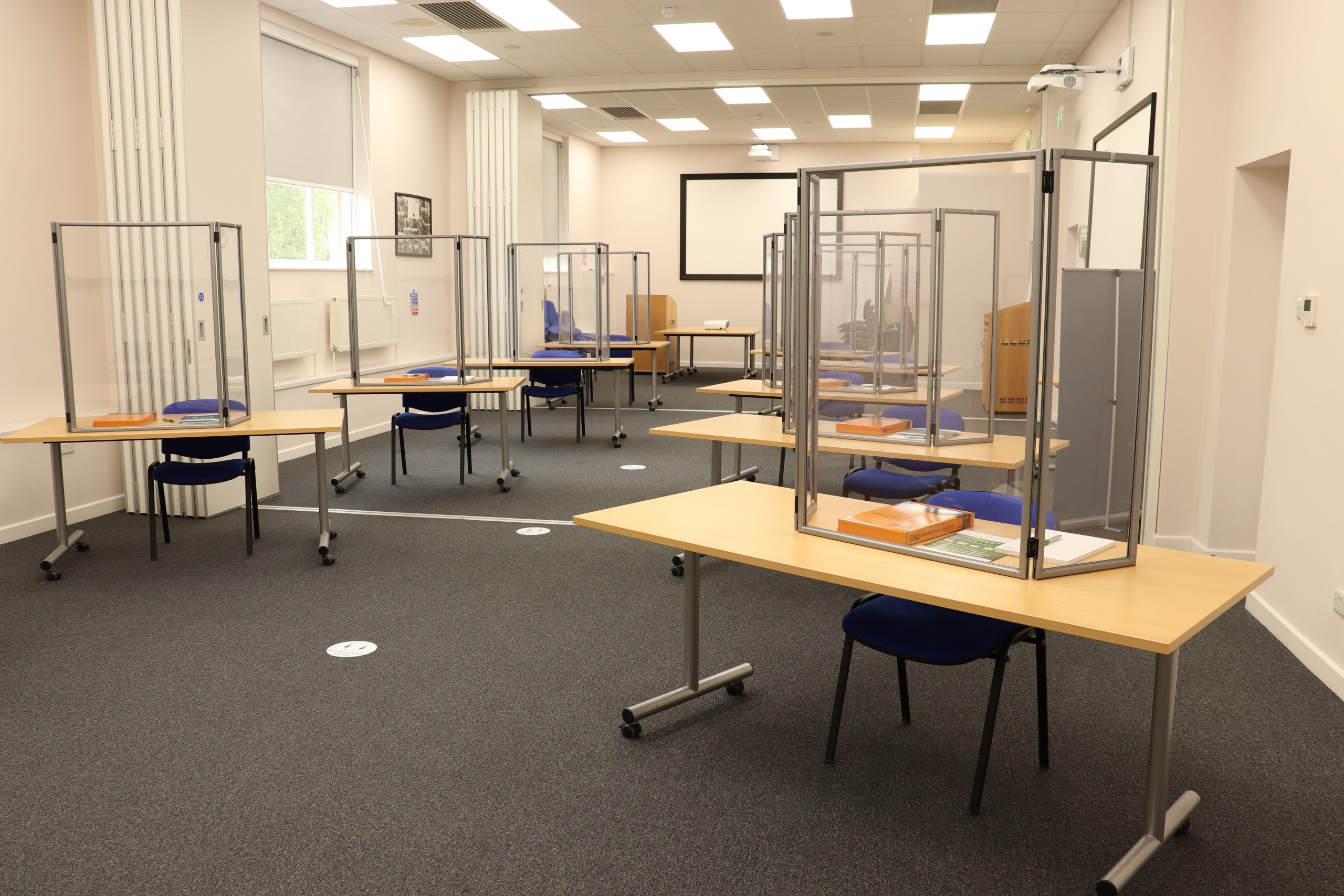 Socially Distanced Classroom Layout